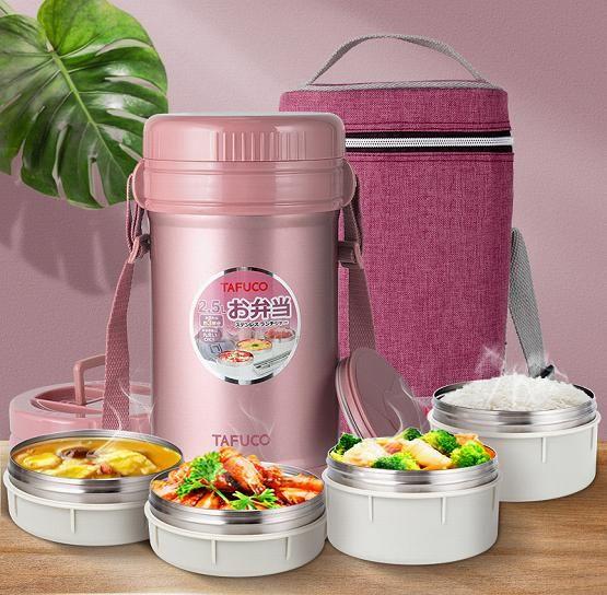 保温饭盒选择哪款好?泰福高保温饭盒独立食盒